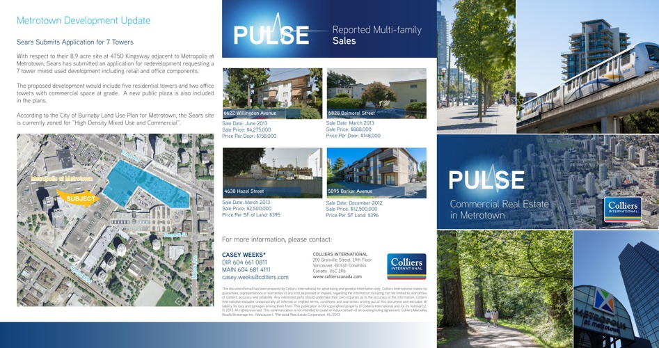 PULSE Newsletter - Metrotown