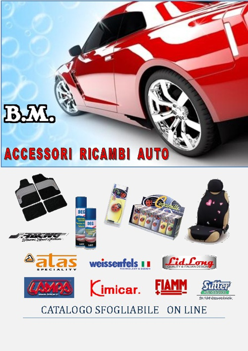 B.M.snc  Accessori  Ricambi  Auto