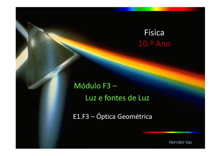 Luz (Ótica Geométrica)
