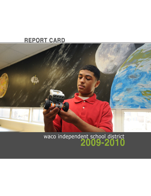 Waco ISD 2009-2010 Report Card