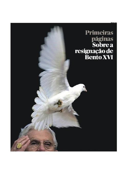 A resignação de Bento XVI