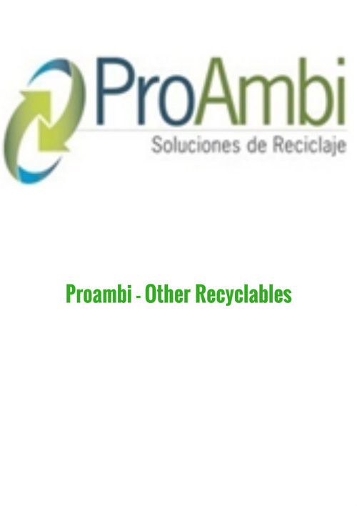 Proambi - Other Recyclables (2015)