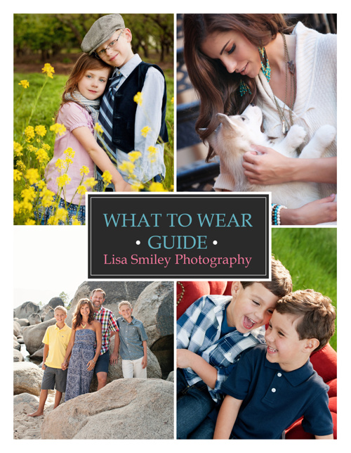 Lisa Smiley Photography What to Wear Guide!