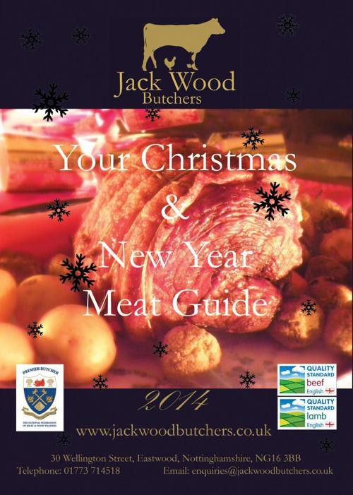 Jack Wood Butchers Christmas Guide 2014
