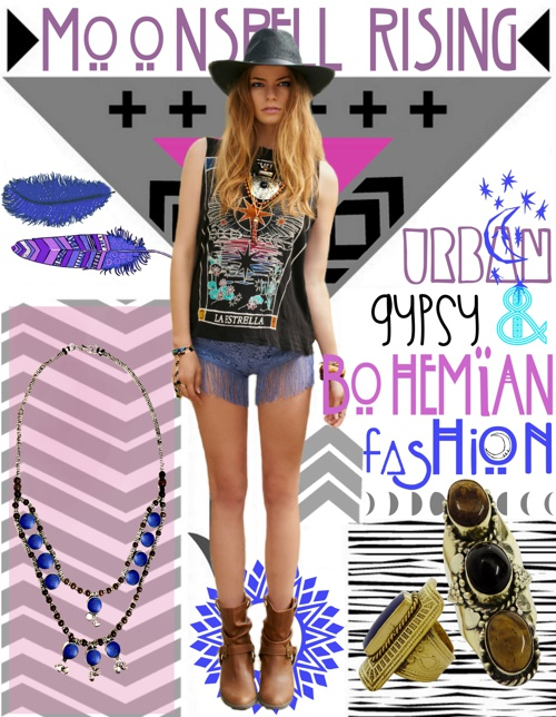 URBAN GYPSY & BOHEMIAN FASHION