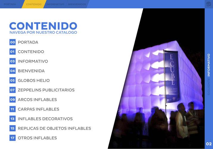 Catalogo AquaOrb Inflables Publicitarios