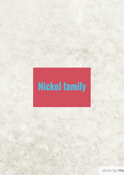 Nickol Family