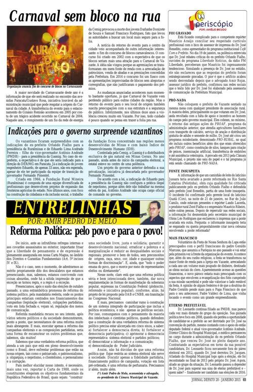 Jornal De Fato 20ª Edição