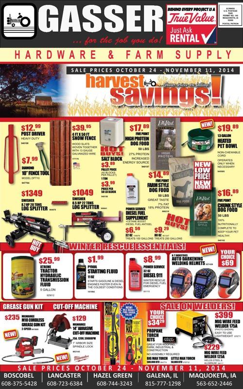 Harvest Savings 2014