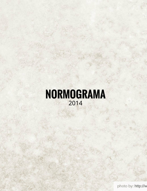 Normagrama 2014.