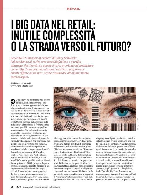 I Big Data nel retail: la strada verso il futuro?
