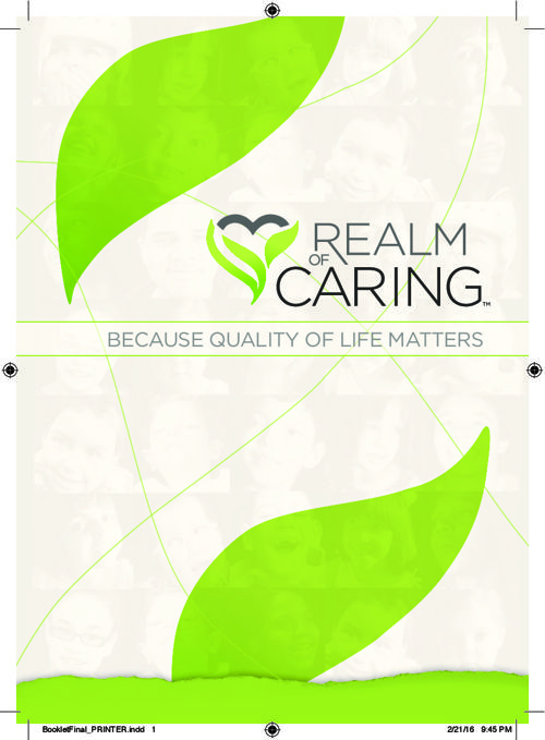 Realm of Caring VIP Book