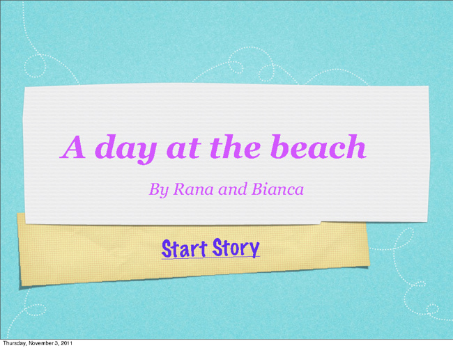 Rana and Bianca Interactive Story