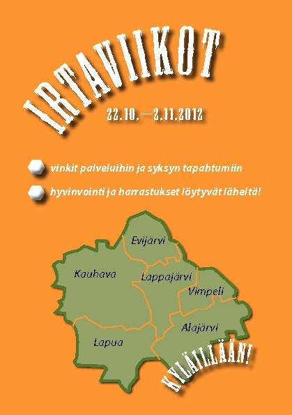 Aisaparin Irtaviikot 22.10.-2.11.2012