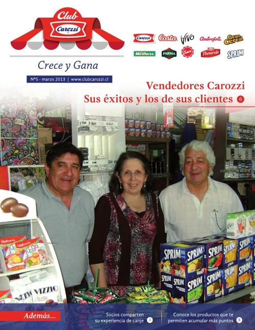 Boletín Carozzi Marzo 2013
