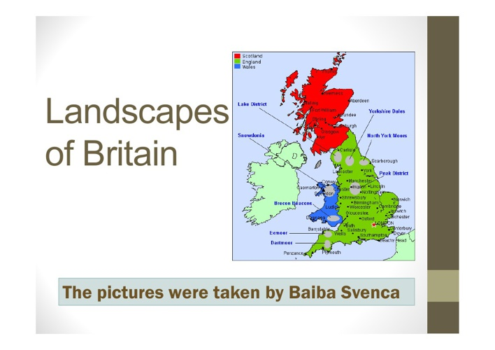 Landscapes of Britain