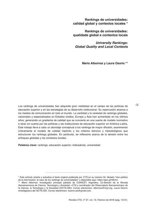 VOL13/N37 - Albornoz y Osorio