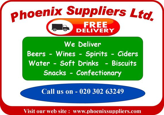 Phoenix Suppliers - Beer and Wine Prices