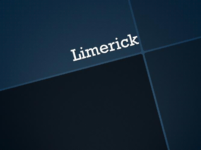 Limerick Inglés