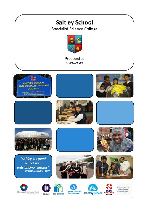 Saltley School Prospectus