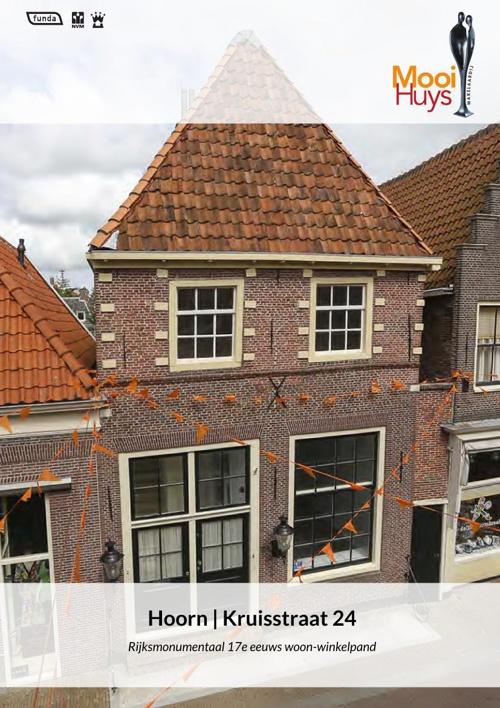 TE KOOP: Kruisstraat 24, Hoorn