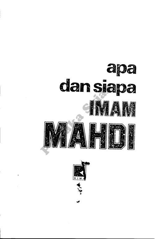 Apa dan Siapa Imam Mahdi