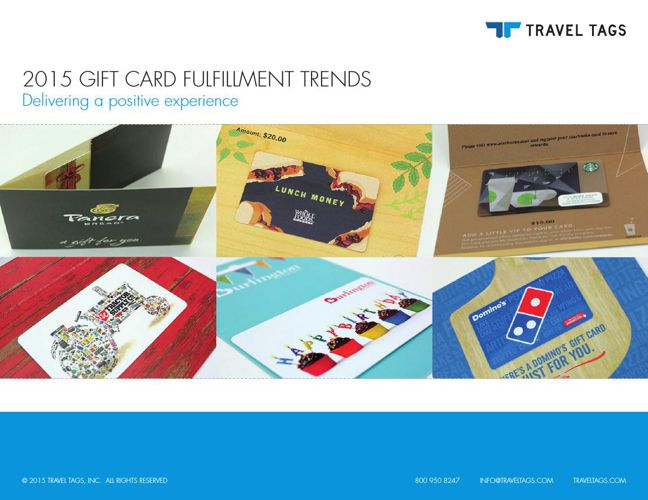 2015 Gift Card Fulfillment Trends: Delivering a positive experie