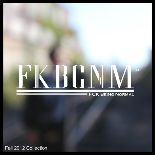 FKBGNM Fall Collection 2012