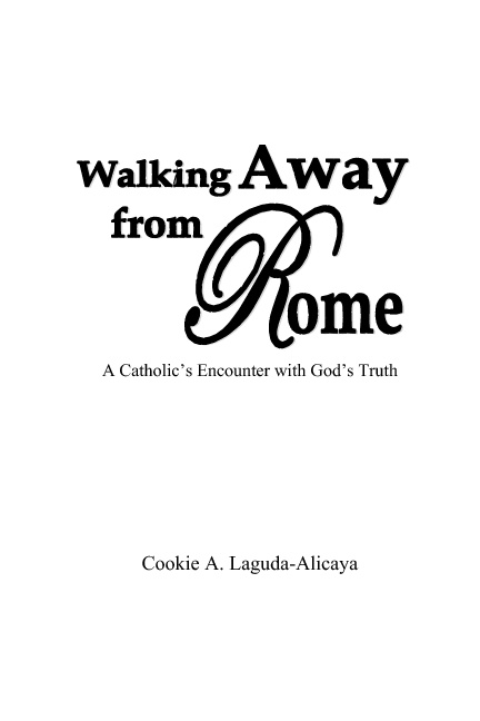 Walking Away from Rome eBook