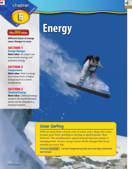 Chapter 6 - Energy