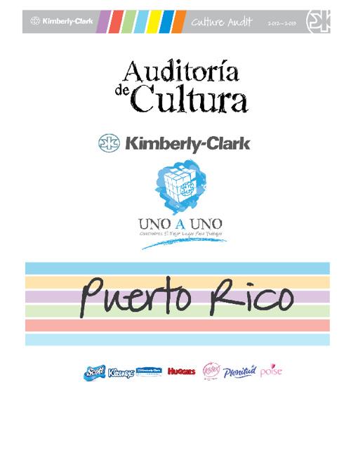 Auditoría de Cultura 2012 - Puerto Rico