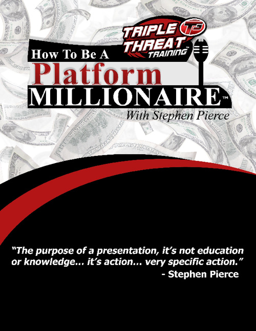 Public Speaking Tips by Stephen Pierce