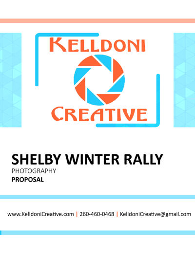 Shelby Winter Rally Proposal
