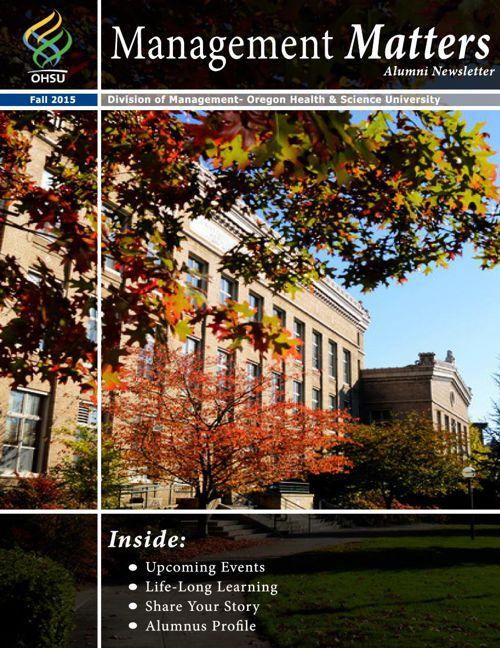 Alumni Newsletter-Fall 2015