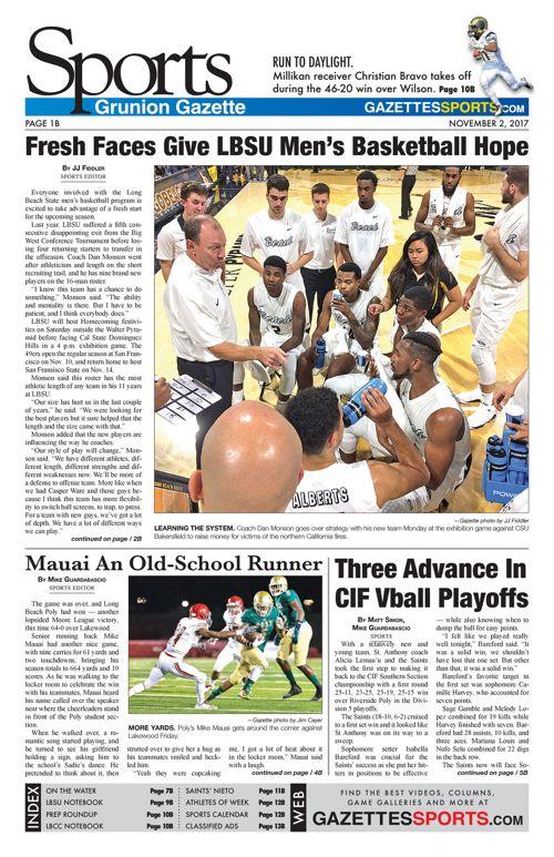 Gazette Sports 11-2-17