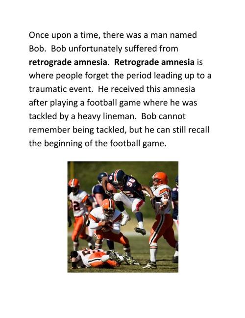 Bob's Memory