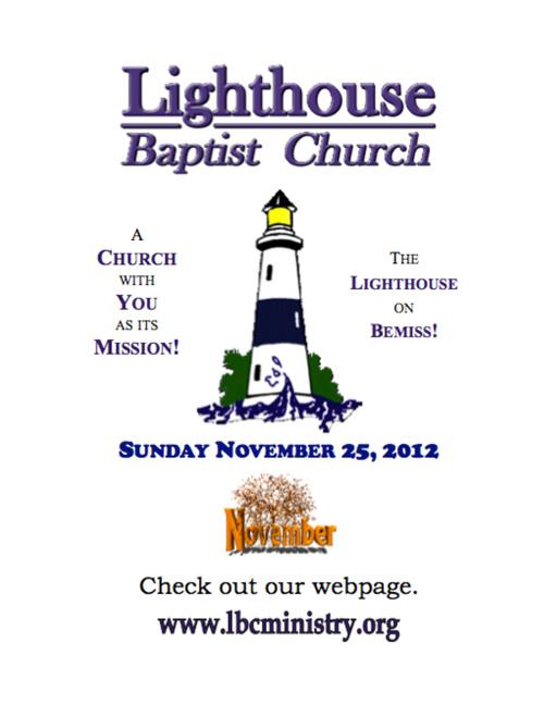 LBC Ministry November 25, 2012