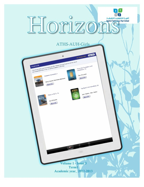 Horizons Magazine Issue 3 AY 2012/2013