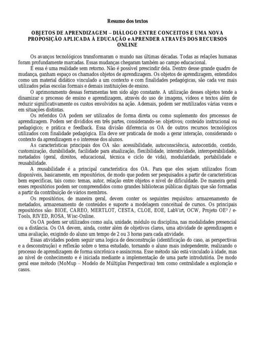 Copy of Resumo dos Textos 5 e 6
