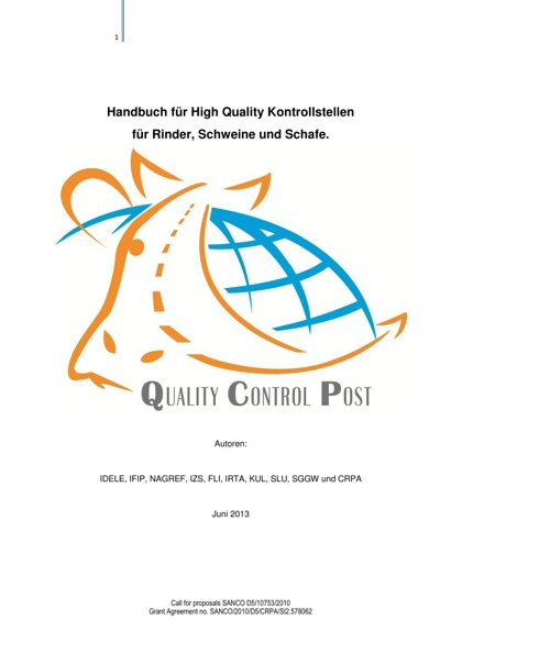 Quality Control Post (German)