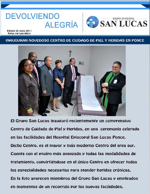 Periodico Online Devolviendo Alegria Junio 2011