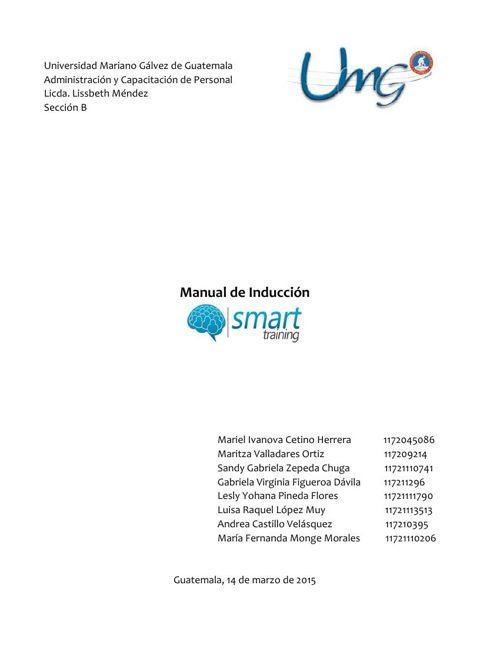 Manual de Inducción La Lechera S.A.