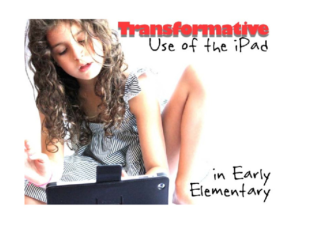 iPad as a Tool in the Classroom