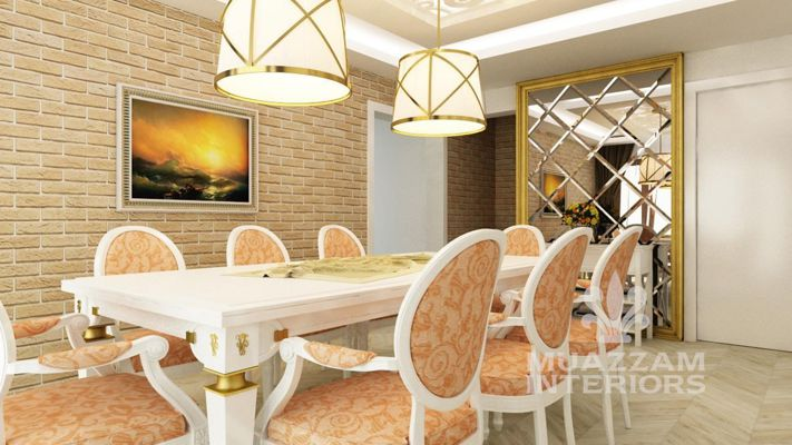 Muazzam Interiors works with only famous designers. We design ex