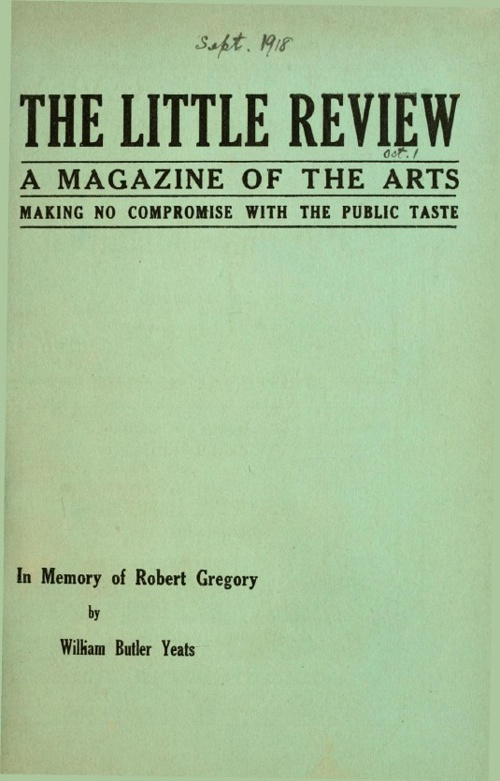 The Little Review, 1918-09