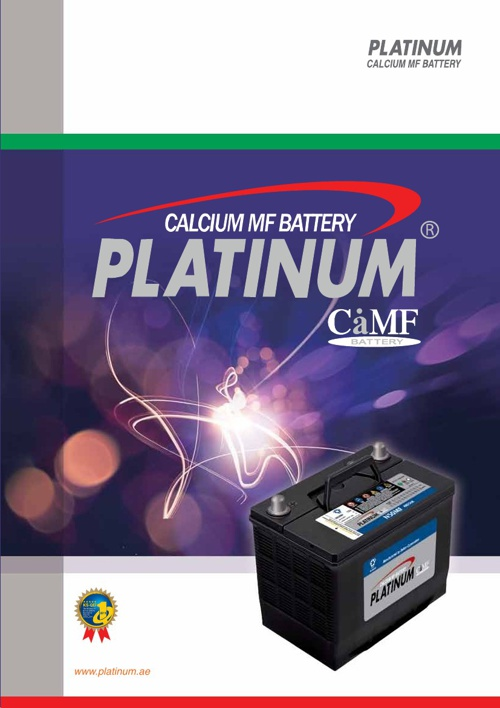 Calcium MF Battery Platinum CaMF