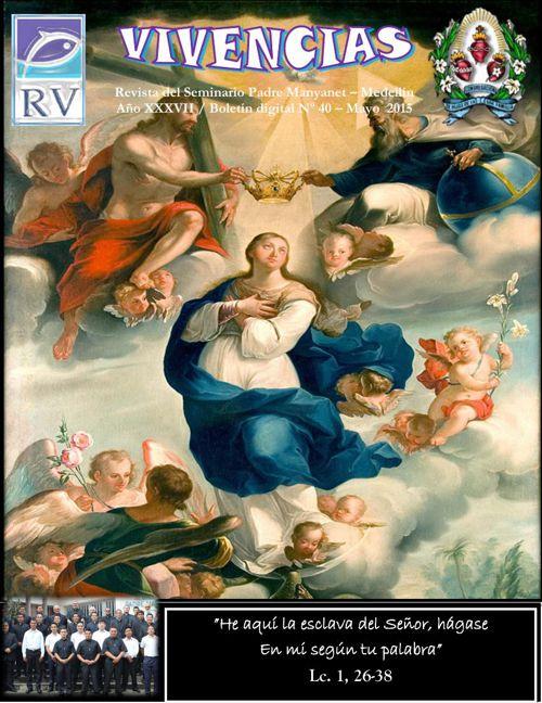 Edicion Revista Vivencias mes de Mayo 2015
