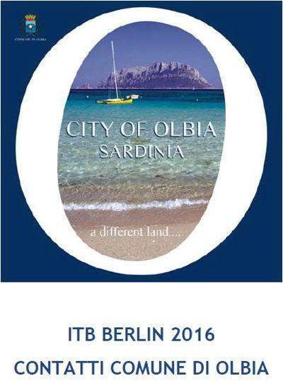 contatti fiera ITB 2016 Olbia Turismo