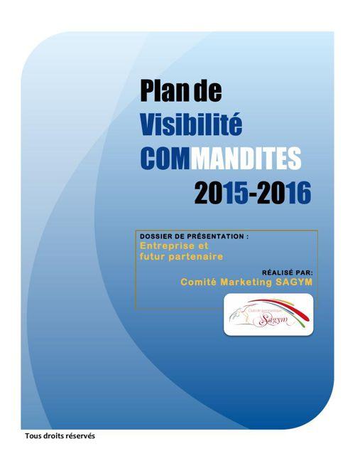 Plan Commandite_Présentation Entreprise