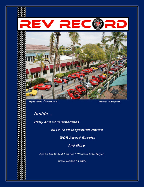 March 2012 Rev Record